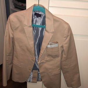 Paul smith junior blazer with pocket square